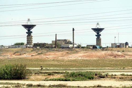 Вид на космодром Байконур, 2014 год. Источник: wikimedia.org
