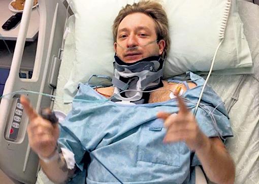 Несмотря на усилия израильских врачей, из-за болей в спине Евгений Плющенко не смог откатать всю олимпийскую программу