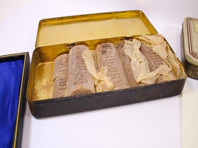 В Великобритании продадут столетний шоколад