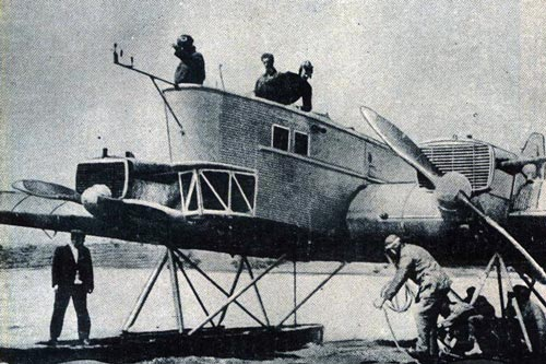 Серийный экземпляр ТБ-1 (АНТ-4) «Страна Советов» без вооружения, построенный для рекордного перелета Москва — Нью-Йорк. Фото: wikipedia.org