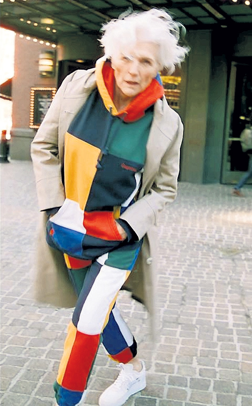 Мэй МАСК показала, что пожилая женщина может быть модной и привлекательной