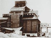 Построенное без единого гвоздя деревянное зернохранилище «Мастодонт». Источник: wikipedia.org