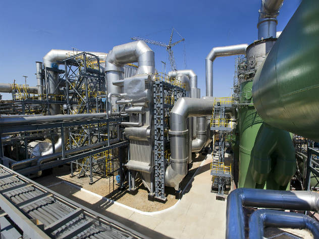 выбросы на заводе в Крыму