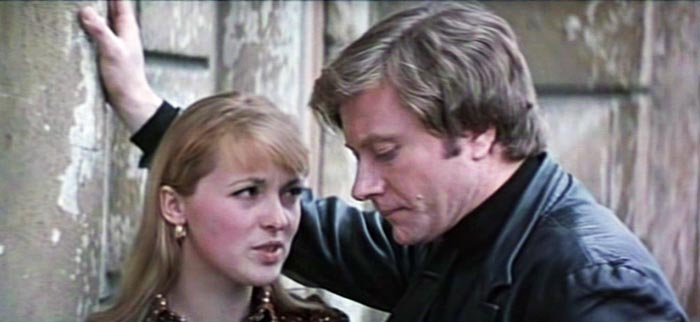 Кадр из фильма «Повторная свадьба» (1975 г.). С Ириной Калиновской