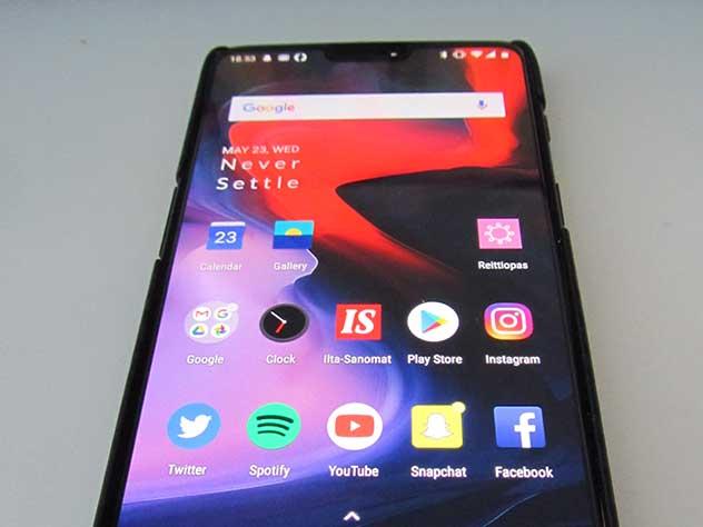 OnePlus 6 — лидер рейтинга смартфонов 2018 года