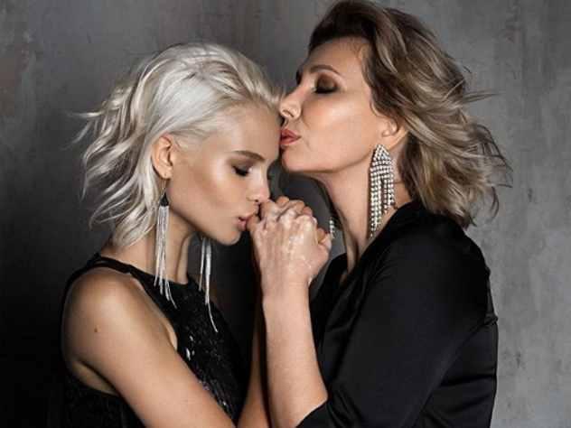 Алеся Кафельникова показала снимок с Марией Тишковой