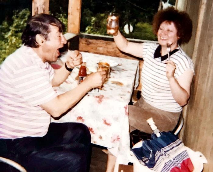 «Карлсон» и его единственная жена Валентина, которой он безбожно изменял