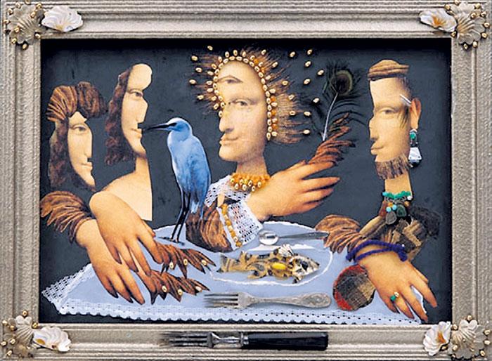 Одна из работ, хранящихся в музее в Ереване