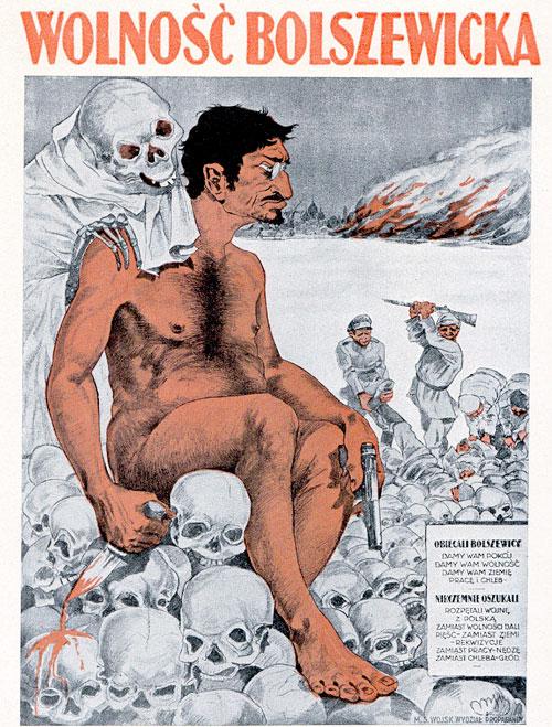 Так революционера изображали в западных журналах