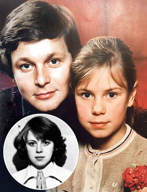 Колтаков с дочкой Настей и бывшей женой Натальей Горегляд