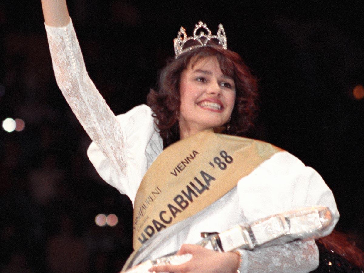 Как сложилась жизнь первой победительницы конкурса «Московская красавица» Марии Калининой